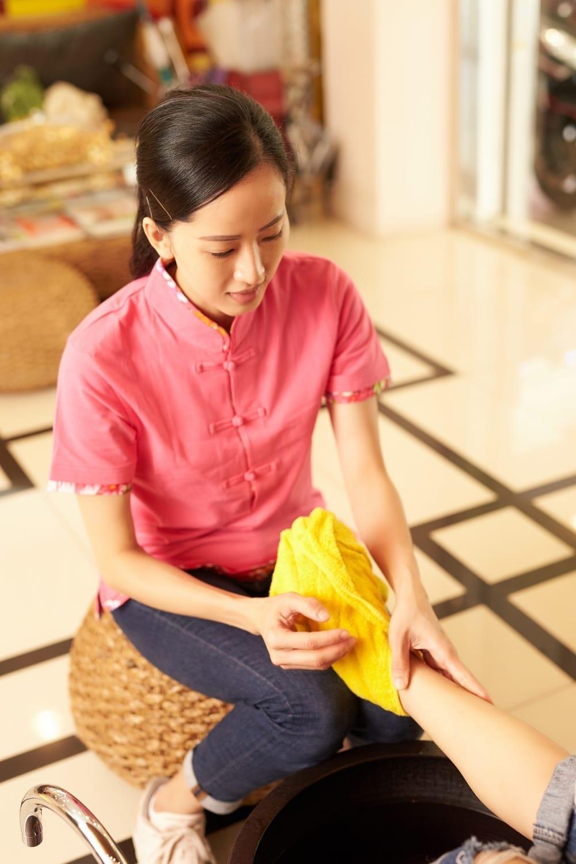 台北按摩滿憶亭養身會館11號芳療師